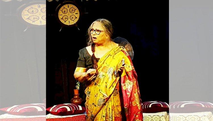 नाट्यगंगा ऑनलाइन पाठशाला- आठवा दिन - इंसान जन्म से ही अभिनेता होता है-वीणा मेहता