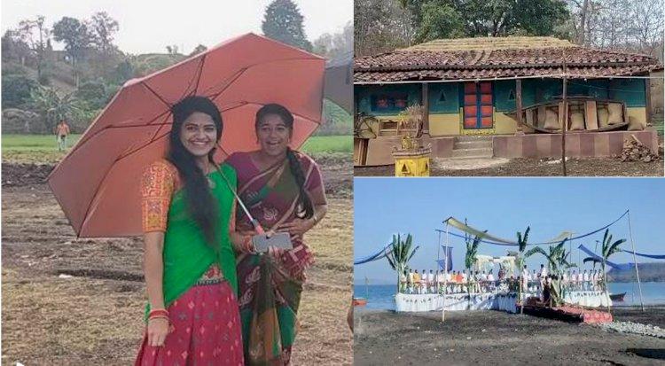 सिवनी के घंसौर के पास पायली पर्यटन स्थल पर हो रही फिल्म की शूटिंग को देखने उमड़े ग्रामीण - देखे पूरी खबर