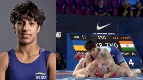 भारत की बेटी अंशु मलिक ने बढ़ाया मान, रजत पदक जीतकर रचा इतिहास